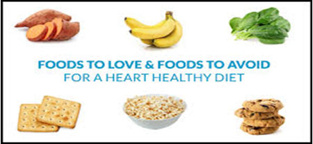 Foods to eat and Foods to avoid in Heart Disease